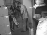 Voyeur Warehouse Clerk Set Hidden Cam In Warehouse 3x