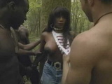 Evening Walk Through Forest Ends Up With Gangbang