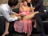Glamourous Yui Hatano Gets Raped at Company Anniversary By 2 of her Colleagues