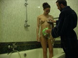 Stepdad Baths and Fucks His Teen Step Daughter In The Bathroom