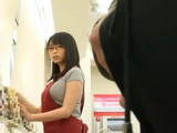 Newbie Salesgirl Akane Yoshinaga Abused By Customer On Her Very First Day at Work
