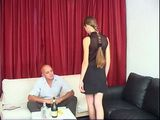 Stepdaddy Likes To Fuck His Skinny Teen Step Daughter In Ass