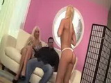 Stepdaughter Teased Stepdad Infront Of Her Sluty Mother