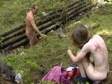 Step Father Rape Step Daughter In Woods  Incest Rape Fantasy