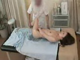 All hands on sensual oil massage with horny Japan milf
