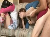Japanese Mother and Daughter Gets Fucked By Some Maniac