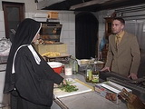 Nun Gets Anal Fucked In Kitchen