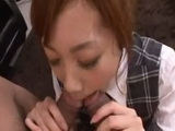 Secretary Aiko Endo Is Handling 2 Cocks at the Same Time in the Office and gets Creampied