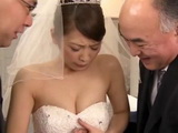 Mafia Boss Came To Collect His Debt From Sakashita Emiri On Her Wedding Day