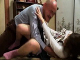 Old Father In Law Rapes His Daughter In Law For the First Time