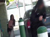 Big Humiliation at Car Wash