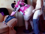 Doggystyle Quickie With Fat Amateur Wife