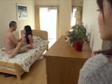Teen Stepsis Masturbating While Watching Brother Fucking A Housemaid