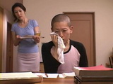 Mother Rino Sekiguchi Busted Her Teen Son Masturbating While Sniffing Her Panties