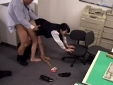 Horny Boss Couldnt Resist His New Secretary And Fucked Her Right In Her Office During Working Hours