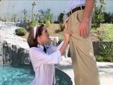 Slutty Teen Schoolgirl Seduced Moms Boyfriend