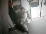 Arab Chick Caught Sucking In A Metro