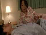 Sleeping Son Gets Abused Late at Night By His Hot Mom Reiko Kobayakawa