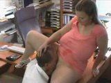 Amateur BBW Secretary Gets Fucked at the Office by Her Boss