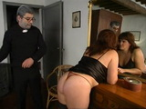 Old Priest Fucks BBW Mature Woman