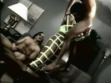 Vintage Black Muscle Girl Fucking