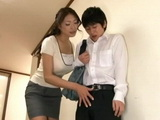 Slutty Mom Reiko Kobayakawa Abuse Her Teenage Son