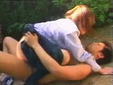 Two Schoolmates Having Sex In The Park