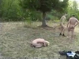 Mature Russian Woman Gets Raped Outdoor By 2 Guys  Rape Fantasy