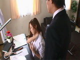 Sales Manager Asami Ogawa Asked Her Assistant For A Shoulder Massage