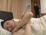 Sleeping Mother Miki Sato Hypnotized Into Incest By Her Son