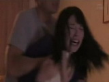 Pissed Debt Collector Roughly Punishes Terrified Hottie Teen