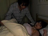 Busty Sleeping Patient Aimi Irie Sexually Abused By Other Patient Late at Night