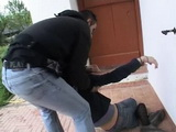 Girl Knocked Down Unconscious Kidnapped and Fucked By Two Guys