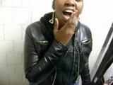 Amateur Ebony Street Hood Slut Blowjob