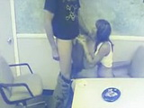Security Cam Taped Secretary who gives Great Blow to her Boss