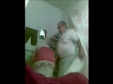 Arab Woman Tapes With Hidden Cam Her Old Father In Law Fucking Her