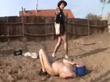 Stud Cowboy Fucked Horny Granny In The Middle Of The Yard 3x