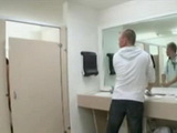 Milf Waitress Busted Fucking Boy In the Restroom