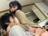Busty Stepmom Akane Yoshinaga Knows How To Wish Good Morning To Her Son