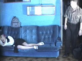 Sleeping Blonde Teen Gets Raped By Brothers Friend