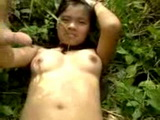 Amateur Thailand Teen Fucked By Her Classmate In The Jungle