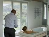 Sexy Bicth Get Caught Masturbating in Bathtub By Black Guy