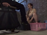 Busty Shoe Shine Lady Ran Niiyama Gives To Customer Much More Than he Expect To Get