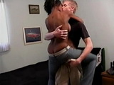Beautiful Amateur Ebony Partygirl Fucked By A White Boy