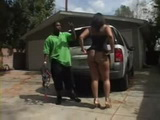 Ebony MILF With Awesome Booty Fucks Young Neighbor