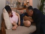 Poor Schoolgirl Ami Kumo Gets Abused By Her Pervert Stepdad