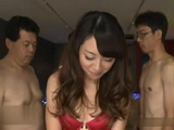 Japanese Girl Tsuchiya Rin Gets Group Fucked By A bunch Of Nerds