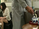 Twisted Janitor Put Some Forbidden Stuff In New Secretary Tea So He Could Fuck Her Rough Without Resisting