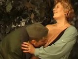 Granny Gets Fucked By Young Soldier