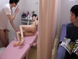 Boyfriend Brought His Teen Japanese Girlfriend at the Wrong Masseur